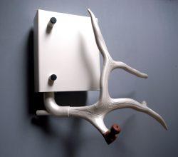 wandobject staal marmer gewei